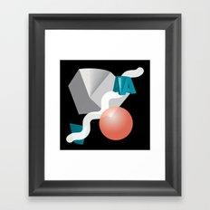 Things Arranged Neatly V Framed Art Print
