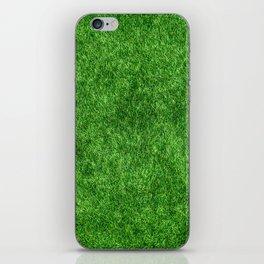 Green Grass Background iPhone Skin