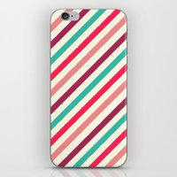 striped iPhone & iPod Skins featuring Striped. by Tayler Willcox