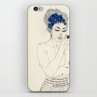 murakami iPhone & iPod Skins featuring You Are An Empty Vessel by Kaethe Butcher