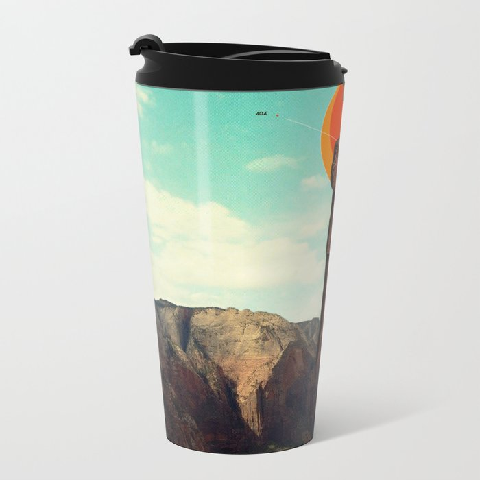 Video404 Metal Travel Mug