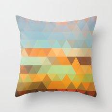 Simple Sky - Sunset Throw Pillow