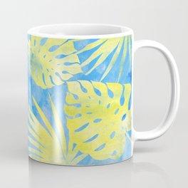 Tropical Leaves Pattern 4 Coffee Mug