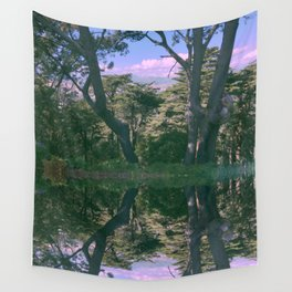 Pink Forest Wall Tapestry