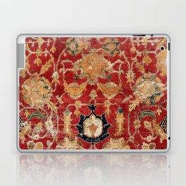 Indo Esfahan Central Persian Rug Fragment Print Laptop & iPad Skin