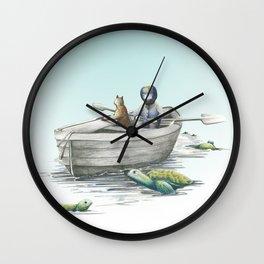 Turtle Dreams Wall Clock