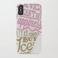 philosophy iPhone & iPod Cases featuring Ice cream eater's philosophy by eli*
