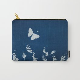 Cyano-butterfly Carry-All Pouch