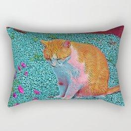 Popular Animals - Cat Rectangular Pillow