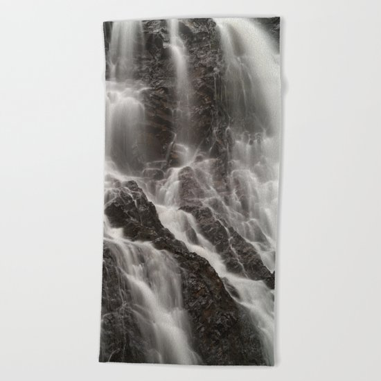 Hays Falls Beach Towel