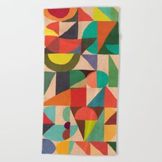 Color Field Beach Towel