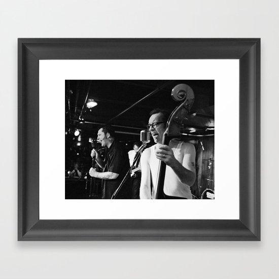 Hot Roddin' Romeos Framed Art Print
