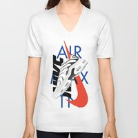 nike V-neck T-shirts featuring Nike Air Max TN by Phil Parcellano