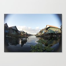 The Venice of Cambodia (Cambodia, Tonle Sap lake & Travel)  Canvas Print