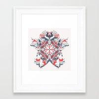 titan Framed Art Prints featuring Titan by Tim Rolls