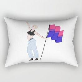 We're Just Strangers Rectangular Pillow