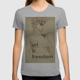 art is freedom T-shirt