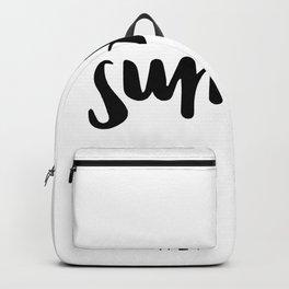 Hello sunday Backpack