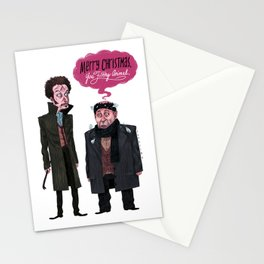 Marv and Harry Stationery Cards