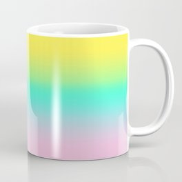 Trendy Bright Candy Gradient Coffee Mug