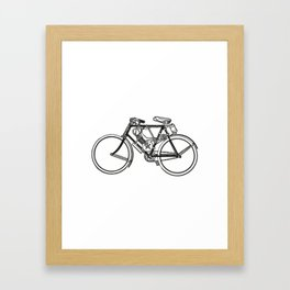 Bike Bicycle Bicicleta Vélo Framed Art Print