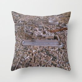 Rome in the Time of Constantine Throw Pillow