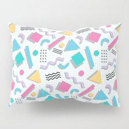 Memphis Shapes Pillow Sham