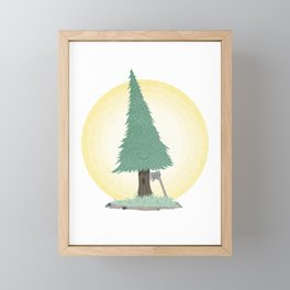 Forbidden Love #2 Framed Mini Art Print