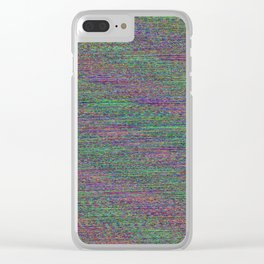 Meander Clear iPhone Case