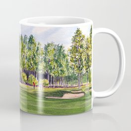 Pinehurst Golf Course No2 Hole 17 Coffee Mug