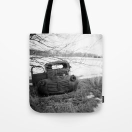 It's so quiet here Tote Bag