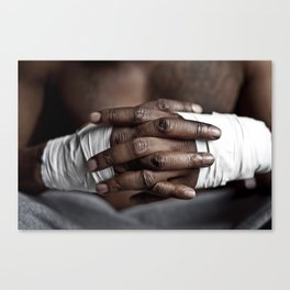 Strong Hands Canvas Print