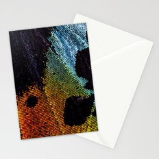 Vibrant Iridescence of The Madagascan Sunset Moth Stationery Cards