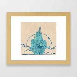 Magic Kingdom Framed Art Print