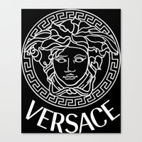 versace Canvas Prints featuring Versace by Nestor2