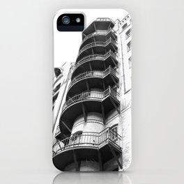 Warehouse District Architecture Hamburg iPhone Case