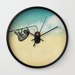 Loose Monkey Wall Clock