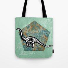 Brachiosaurus Fossil Tote Bag