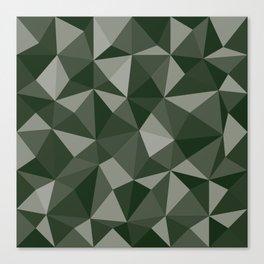 Geometric pyramids V8 Canvas Print