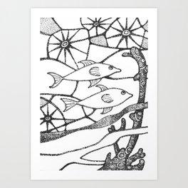 fish1 Art Print