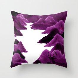 映山红/Azalea Throw Pillow