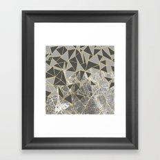 Ab Marb Grey Returned Framed Art Print