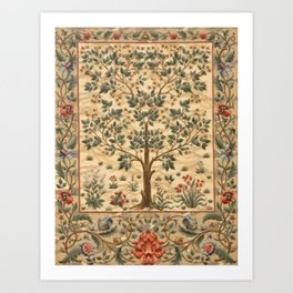 William Morris Tree Of Life Kunstdrucke
