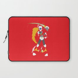 Zero (Mega Man X) Splattery Design Laptop Sleeve