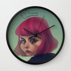 queenpink Wall Clock