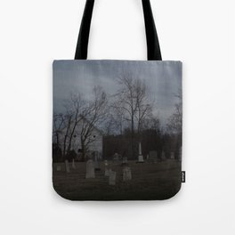 Little Cemetery on the Hill 1 Tote Bag