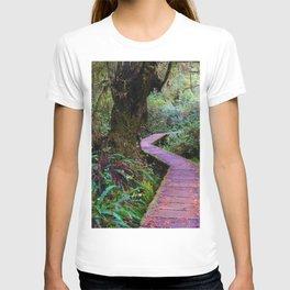Rainforest Trail, Vancouver Island BC T-shirt