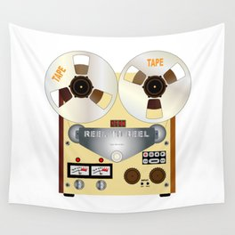 Rel To Reel Wall Tapestry