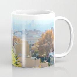 Barcelona Palms Coffee Mug