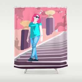 Come back to me Shower Curtain